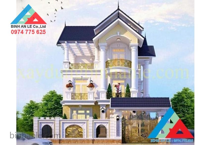Mẫu biệt thự nhà phố đẹp Biên Hòa- Đồng Nai